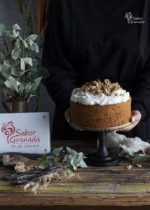 Tarta de zanahoria y nueces - Sabor Granada