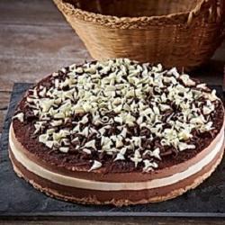 Tarta tres chocolates de La tarta de la madre de Cris - Sabor Granada
