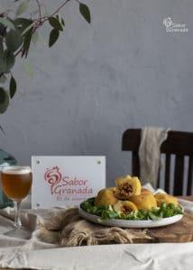 Bombas picantes de patatas - Sabor Granada