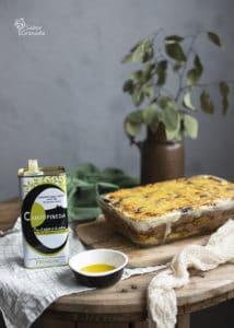 Aceite campopineda para hacer musaka - Sabor Granada