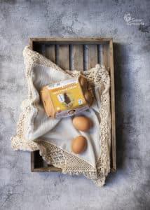 Huevos Garrido para hacer bizcocho de aguacate - Sabor Granada
