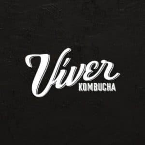 Logo Viver Kombucha - Sabor Granada