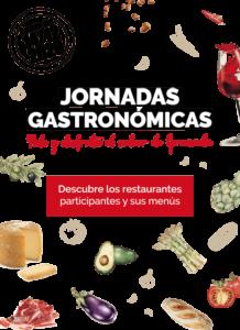 """Banner de """"Jornadas Gastronómicas"""" 2020"""