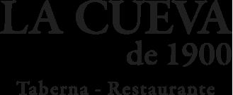 Logo negro de la cueva 1900 - Sabor Granada