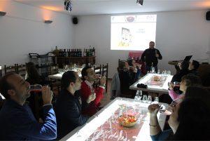 Cata de vinos en Bodega 4 vientos - Sabor Granada