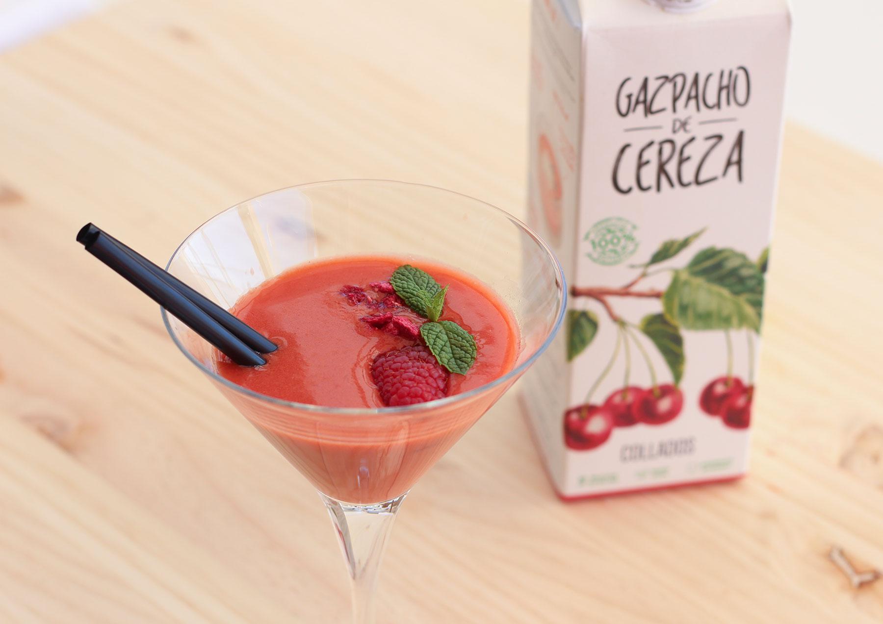Receta para hacer Cherry Mery - Sabor Granada