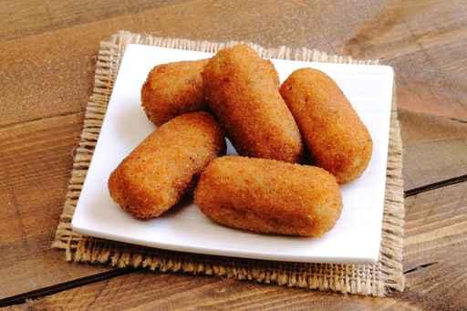 Receta para hacer croquetas de jamón serrano - Sabor Granada