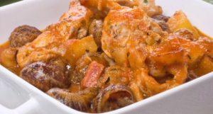 Receta para hacer estofado de caracol y conejo - Sabor Granada