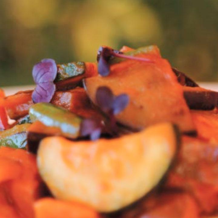Receta de Pisto Manchego con Tomate Frito Casero Juan Ranas