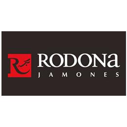 Rodona Jamones logo