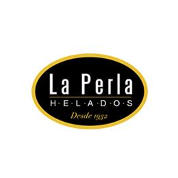 Helados La Perla logotipo - Sabor Granada