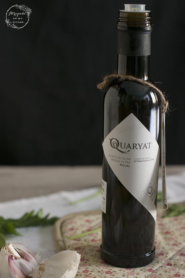 AOVE Quaryat para elaborar arroz con caracoles - Sabor Granada