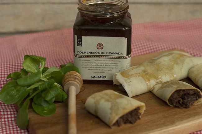 Miel de castaño de Colmeneros de Granada - Sabor Granada