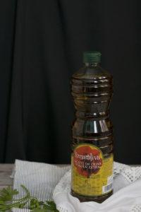 Botella de aceite Iznaoliva - Sabor Granada