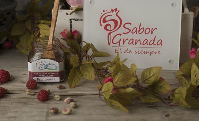 Productos para elaborar tarta embrujo de Granada - Sabor Granada