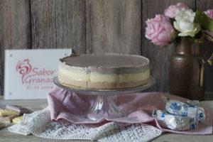 Receta para hacer tarta tres Chocolates Sabor Granada
