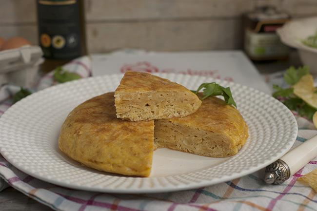 Tortilla de patatas chips - Sabor Granada