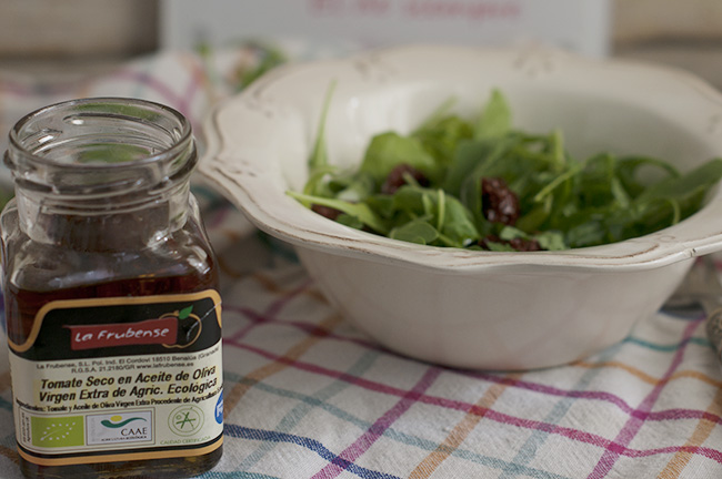 Tomate seco en AOVE ecológico La Frubense - Sabor Grananda