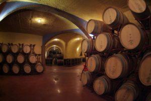 Interior de las bodegas Pago de Almaraes - Sabor Granada