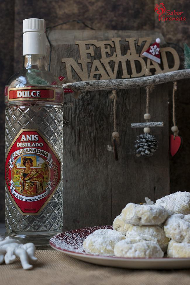 Anís destilado la granadina - Sabor Granada