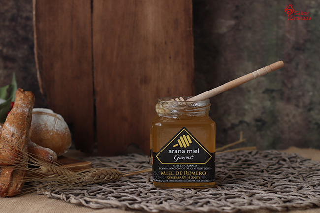 Miel de romero de Arana Miel - Sabor Granada