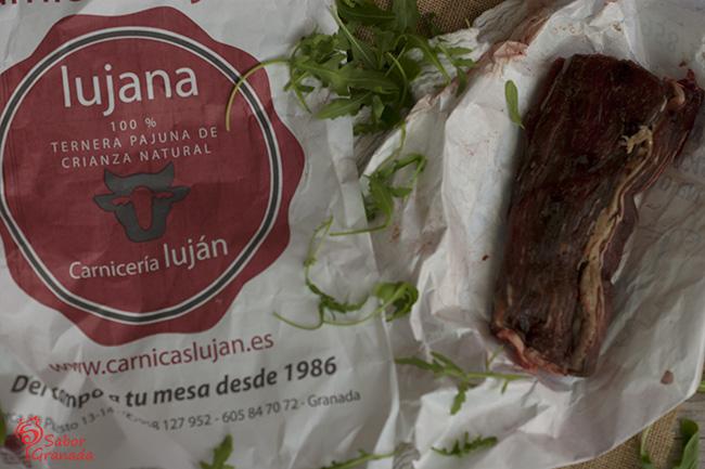 Ternera pajuna de crianza natural de Carnicería Luján - Sabor Granada