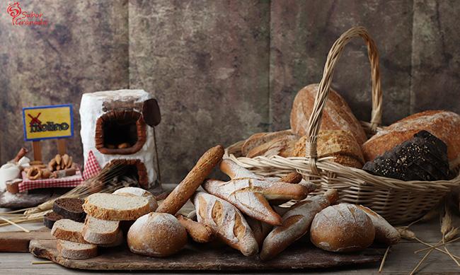 Panes de la Panadería El Molino - Sabor Granada