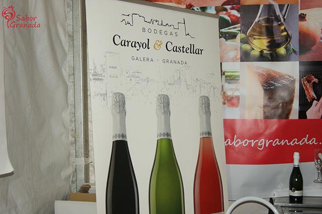 Vinos de Carayol & Castellar en la Feria Primavera y vino en Guadix - Sabor Granada