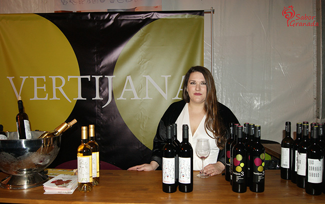Vinos de Vertijana en la Feria Primavera y vino en Guadix 2018 - Sabor Granada