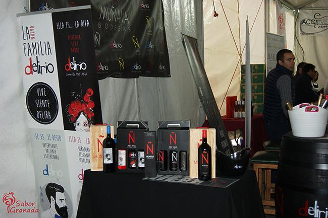 Vinos Muñana en la Feria Primavera y vino en Guadix - Sabor Granada