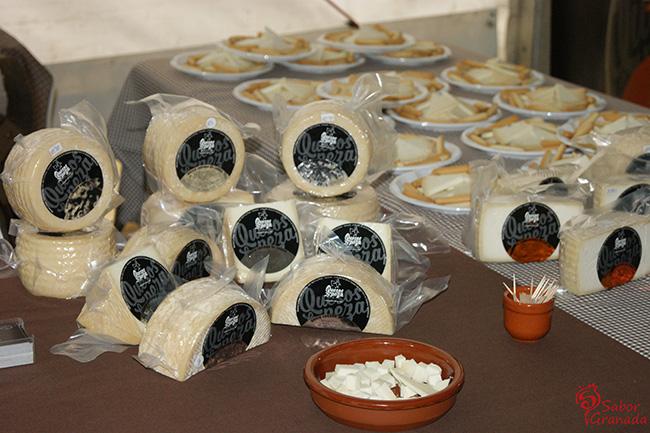 Quesos de Peza en la Feria Primavera y vino en Guadix - Sabor Granada