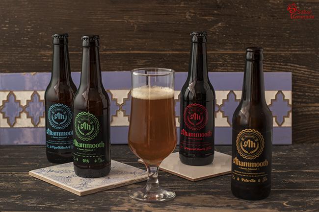 Cerveza Mammoth - Sabor Granada
