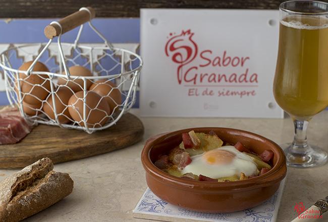Cómo hacer huevos a la flamenca - Sabor Granada