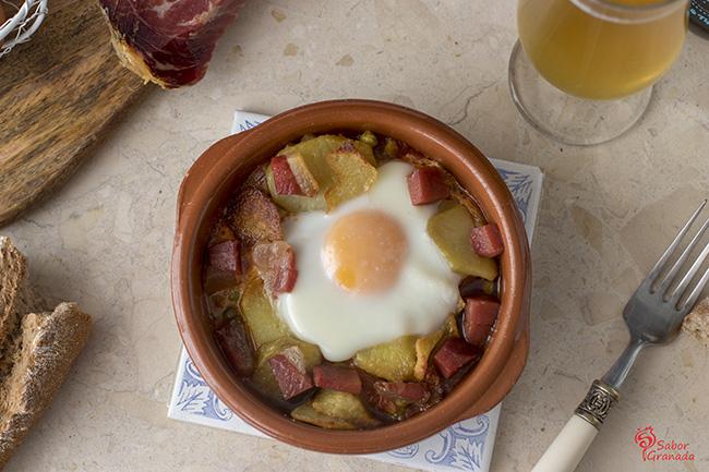 Huevos a la flamenca - Sabor Granada