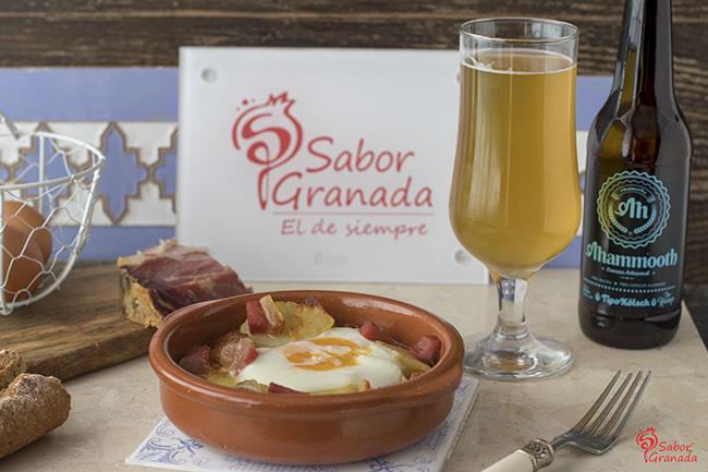 Receta para hacer huevos a la flamenca - Sabor Granada