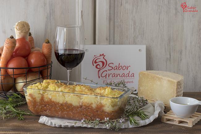 Receta para hacer pastel de carne - Sabor Granada