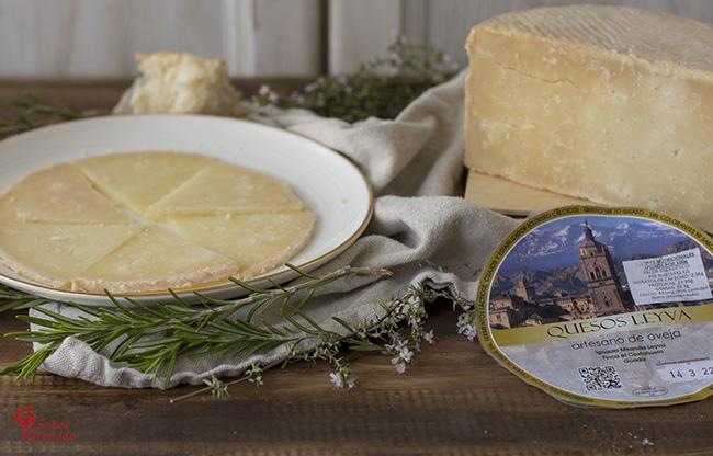 Queso artesano de oveja de Leyva - Sabor Granada