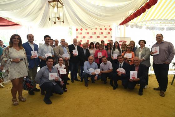 Foto familia Sabor Granada en el Corpus