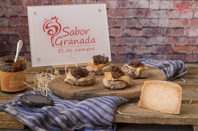 Receta para hacer medallones de solomillo con queso de cabra y chutney de calabaza - Sabor Granada