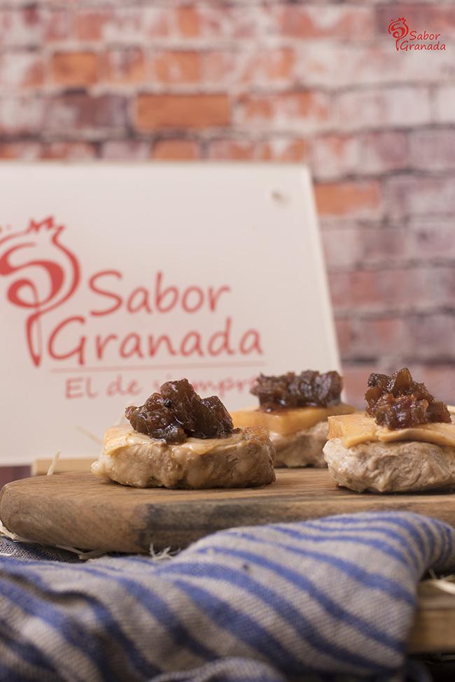 Cómo hacer medallones de solomillo con queso de cabra y chutney de calabaza - Sabor Granada