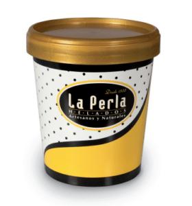 Helados La Perla formato hogar - Sabor Granada