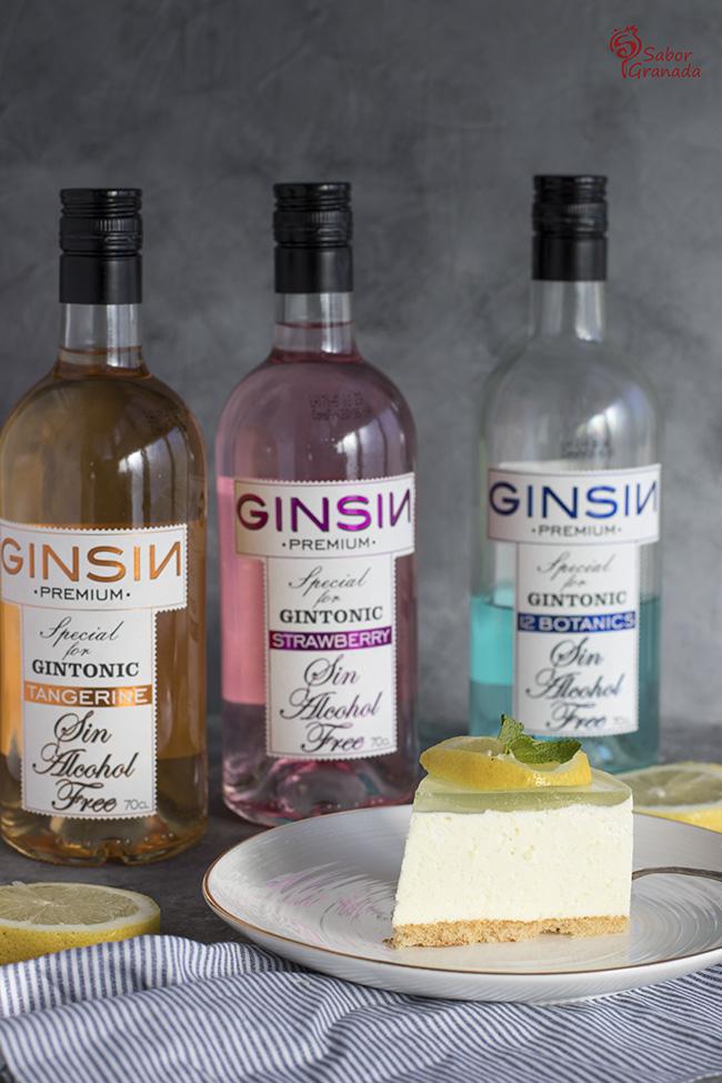 Pastel de Gin Tonic sin alcohol - Sabor Granada