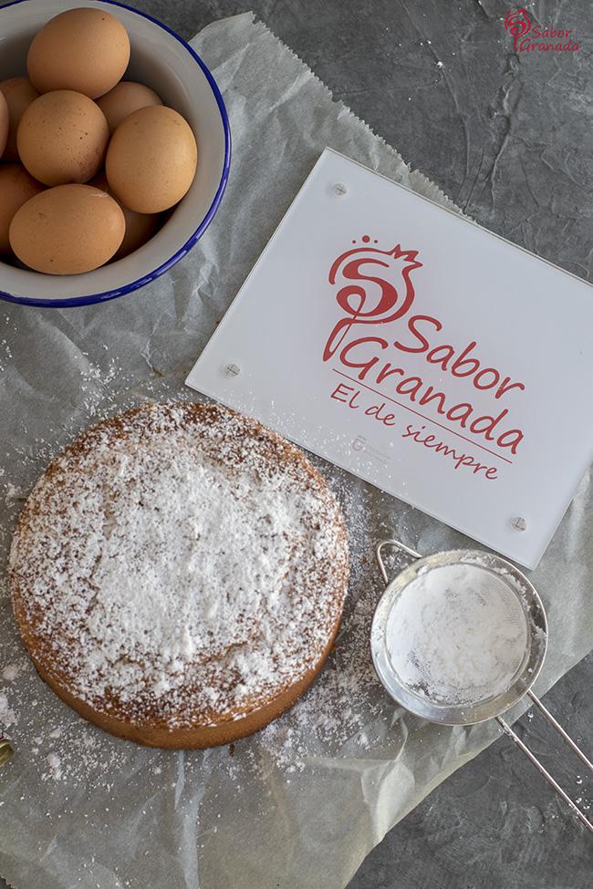 Cómo hacer bizcocho de AOVE - Sabor Granada