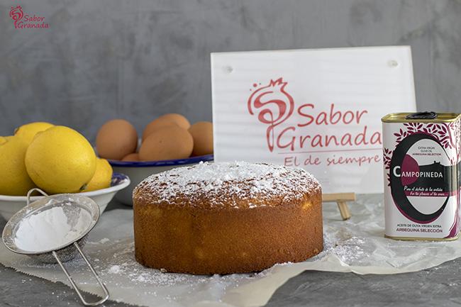 Bizcocho de AOVE - Sabor Granada