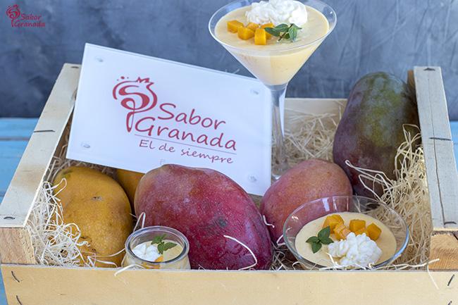 Cómo hacer mousse de mango - Sabor Granada