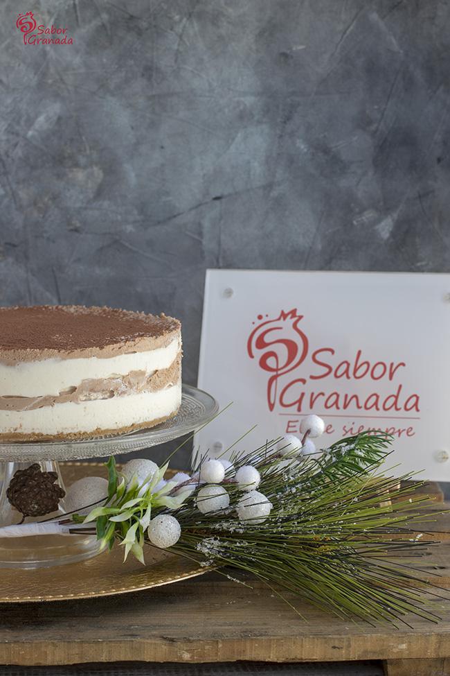 Cómo hacer tarta de queso, chocolate y crema de whisky - Sabor Granada