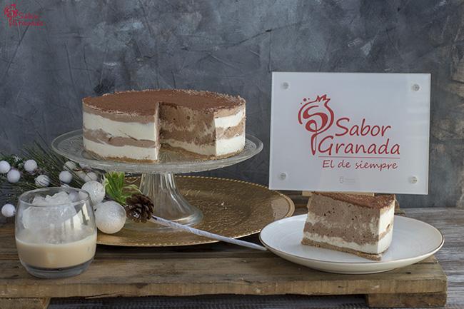 Receta para hacer de tarta de queso, chocolate y crema de whisky - Sabor Granada