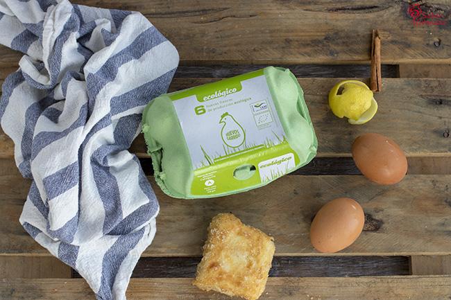 Huevos Garrido para hacer leche frita - Sabor Granada