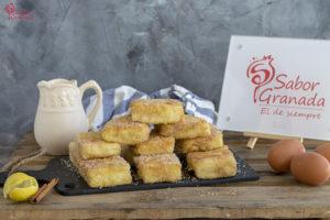 Receta para hacer leche Frita - Sabor Granada