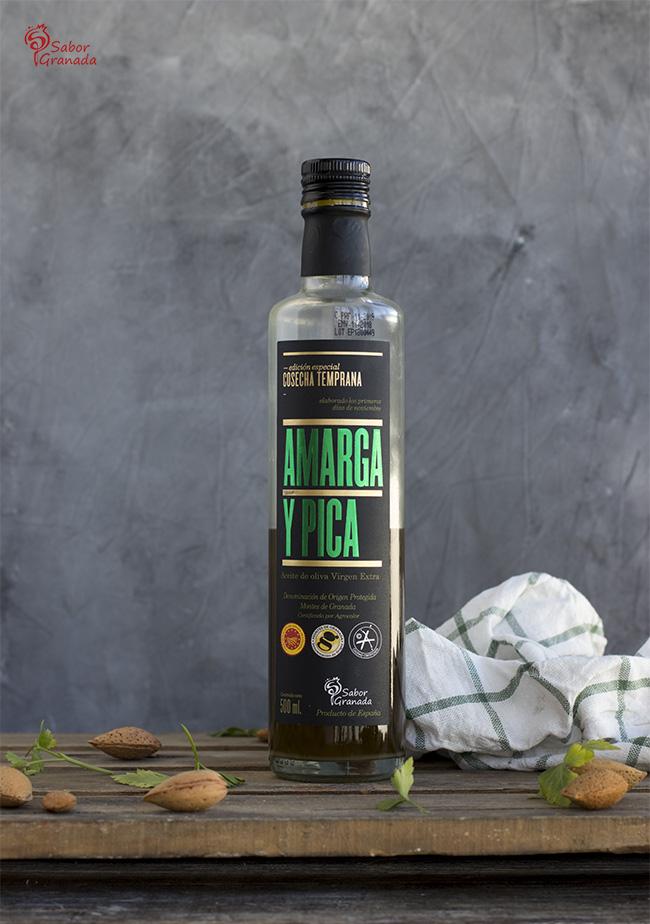 Aceite Amarga y Pica - Sabor Granada